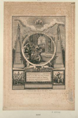 Au nom de <em>la</em> liberté tout citoyen est soldat et tout soldat est citoyen 14 juillet 1789... : [estampe]