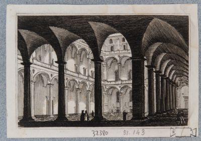 Palazzo della Cancelleria. Cortile