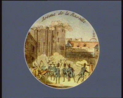 Assaut de la Bastille [estampe]