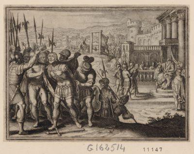 [Jugement et exécution de Titus Manlius] [estampe]