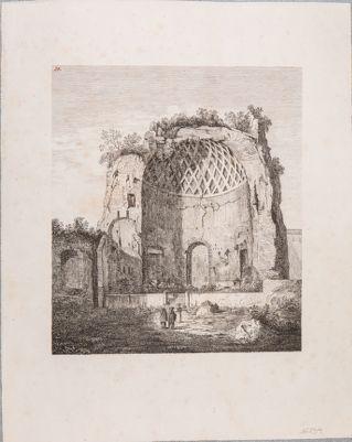 Tempio di Venere e Roma, abside verso il Colosseo