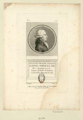 Guillaume François Charles Goupil-Préfelne né à Argentan en 1727 député du bail.ge d'Alençon à l'Assemblée nationale de 1789 : [estampe]