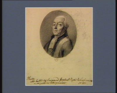 Comte de Laipaud senechal d'épée la Basse Marche et député de cette province : [dessin]