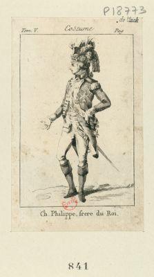 Ch. Philippe, frere du Roi [estampe]