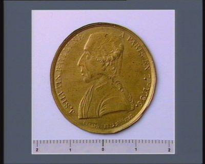 J. SILVAIN BAILLY NE A PARIS EN 7.BRE 1736 DECAPITE LE 12 9.BRE <em>1793</em>