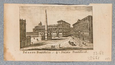 Palazzo del Quirinale e piazza antistante