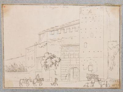 Porta Prenestina, veduta dall'esterno