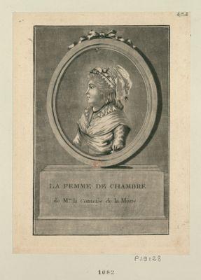 La  Femme de chambre de Mme la comtesse de la Motte [estampe]