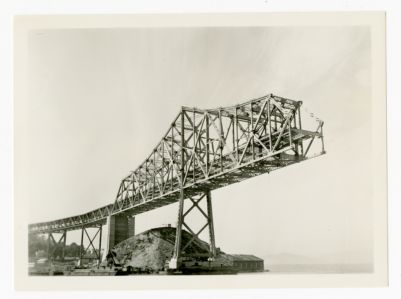29. View of the Bay Bridge on Oct. 13, 1935