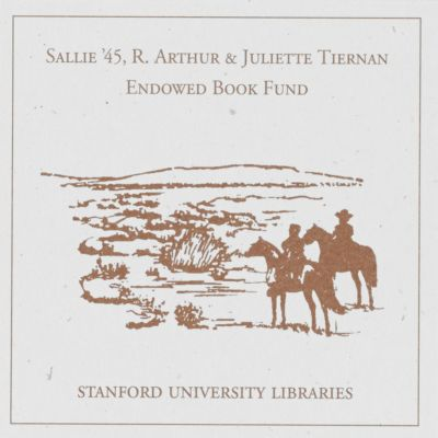 Sallie '45, R. Arthur and Juliette Tiernan Endowed Book Fund
