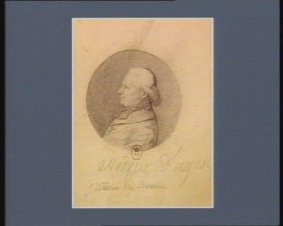 D'Usson de Bonnac évêque d'Agen [dessin]