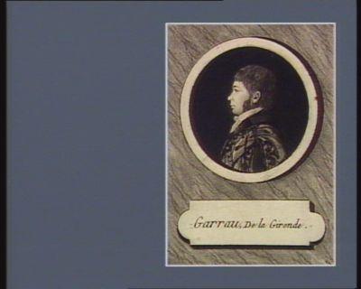 Garrau, De la Gironde [estampe]