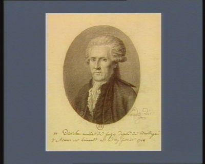 M. Darche maitre de forges Deputé du Baillage d'Avesnes en hainault né le 27 fevrier 1748 : [dessin]