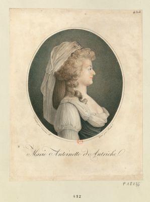 <em>Marie</em> <em>Antoinette</em> d'Autriche [estampe]