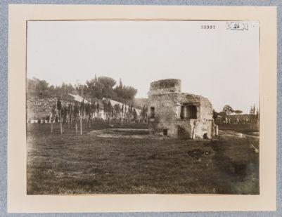Porta Capena, resti di antica costruzione alla Moletta