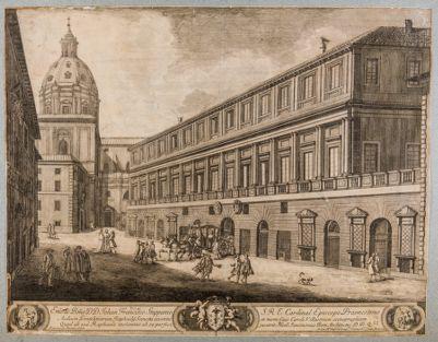 Palazzo Vidoni. Prospetto su via del Sudario