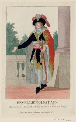 Revelliere-Lepeaux membre du Directoire exécutif. Né à Montaigu départem.t de la Vendée, le 25 août 1753 : [estampe]
