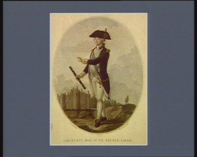 Louis XVI, roi d'un peuple libre [estampe]