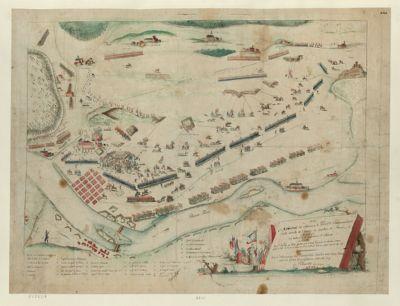 Dédié au général de division Lefevre, Commandant l'aile droite de l'armée de Sambre et Meuse [estampe]