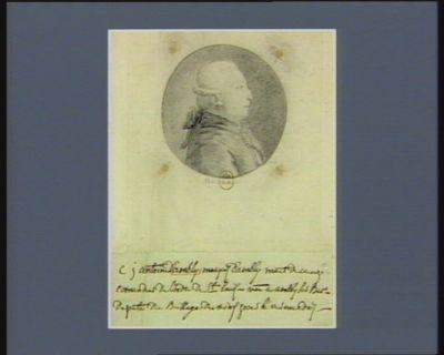 C.J. Antoine d'Ambly marquis d'Ambly [maréchal] de camp, comandant de l'ordre de S.t Louis né à Ambly sur Bar, député du baillage de Reims [illisible] : [dessin]