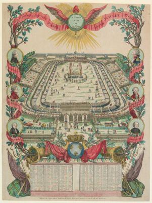 La  Federation faite le 14 juillet 1790 la nation la loi et le Roi : [estampe]
