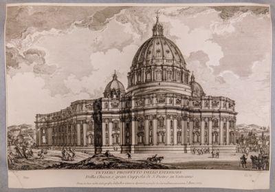 S. Pietro in Vaticano. Abside e cupola