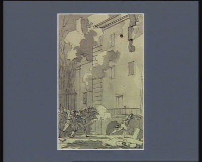 [Evénement du huit janvier 1791] [dessin]