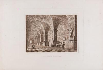 Palazzo Vaticano. Biblioteca. Sala Sistina