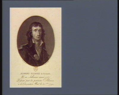Albert Turski le Sarmate né en Lithuanie député par les patriotes polonais à la Convention nat.le le 30 X.bre 1792 : [estampe]