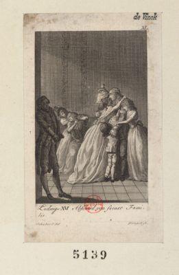 Ludwigs XVI Abschied von seiner Familie [estampe]