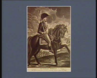 General Moreau who defeated the Austrian Army in the actions of Nedersheim, Nordlingen &<em>c</em> fought June 28th 1800 : [estampe]