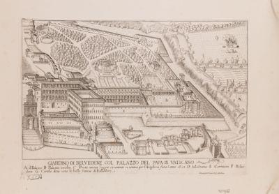 Palazzo Vaticano. Giardini