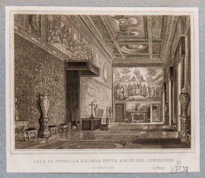 Palazzo del Quirinale. Interno, Sala del Trono