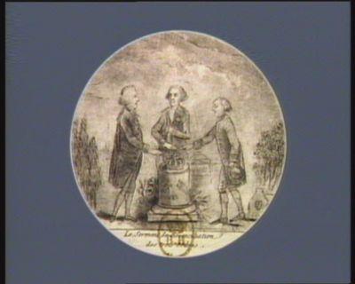 Le  Serment de réconciliation des Trois Ordres 1789 [estampe]