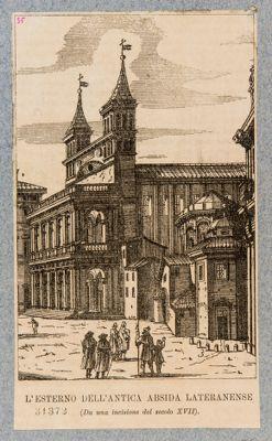 Chiesa di S. Giovanni in Laterano, facciata posteriore