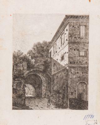Palatino, resti della Domus Caligulae già presso la torretta degli Horti Farnesiani