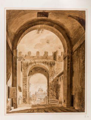 Porta San Pancrazio in Roma