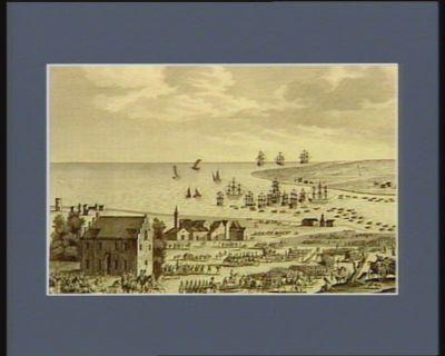 Evacuation de la Hollande par les Anglo-Russes et capitulation du duc d'Yorck le 10 brumaire an 8 : [estampe]