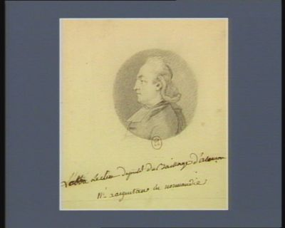 L' Abbé Leclerc député du baillage d'Alençon né à Argentan en Normandie : [dessin]