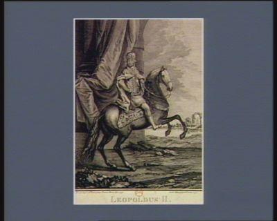 Leopoldus II Rex Hungariae et Bohemiae Archidux Austriae [estampe]