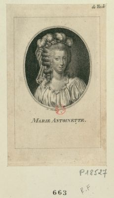 Marie Antoinette [estampe]