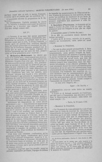 Tome 41 : Du 30 mars au 16 avril 1792 - page 13