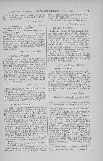 Tome 41 : Du 30 mars au 16 avril 1792 - page 37