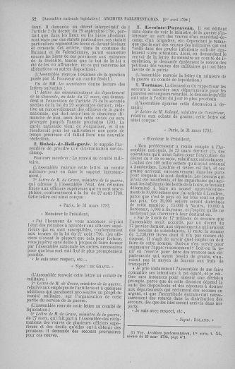 Tome 41 : Du 30 mars au 16 avril 1792 - page 52