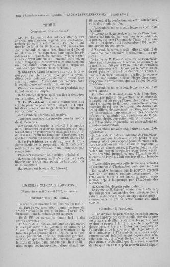 Tome 41 : Du 30 mars au 16 avril 1792 - page 100