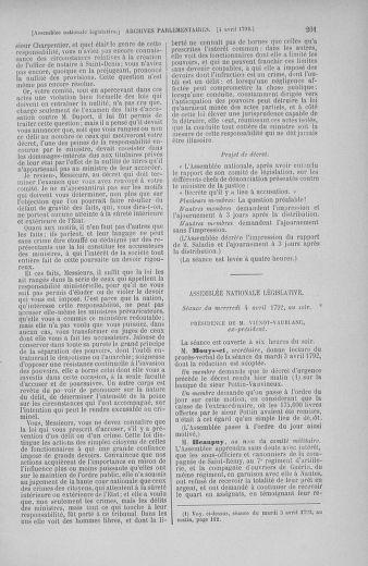 Tome 41 : Du 30 mars au 16 avril 1792 - page 201