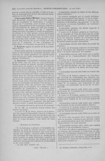 Tome 41 : Du 30 mars au 16 avril 1792 - page 202