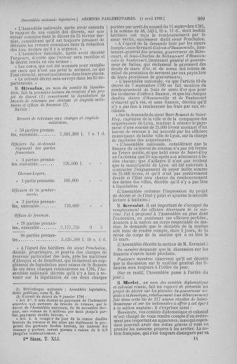 Tome 41 : Du 30 mars au 16 avril 1792 - page 209