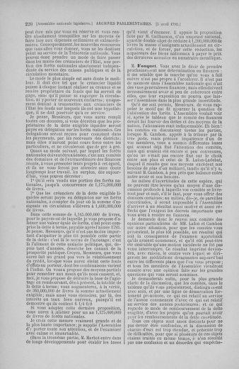 Tome 41 : Du 30 mars au 16 avril 1792 - page 220