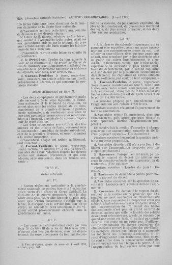 Tome 41 : Du 30 mars au 16 avril 1792 - page 228